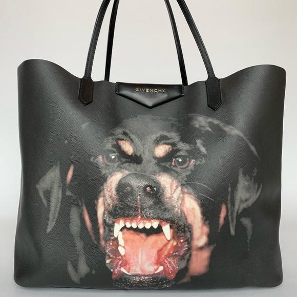 696e0fbabd Givenchy Handbags - Givenchy Rottweiler Antigona Saffiano leather tote